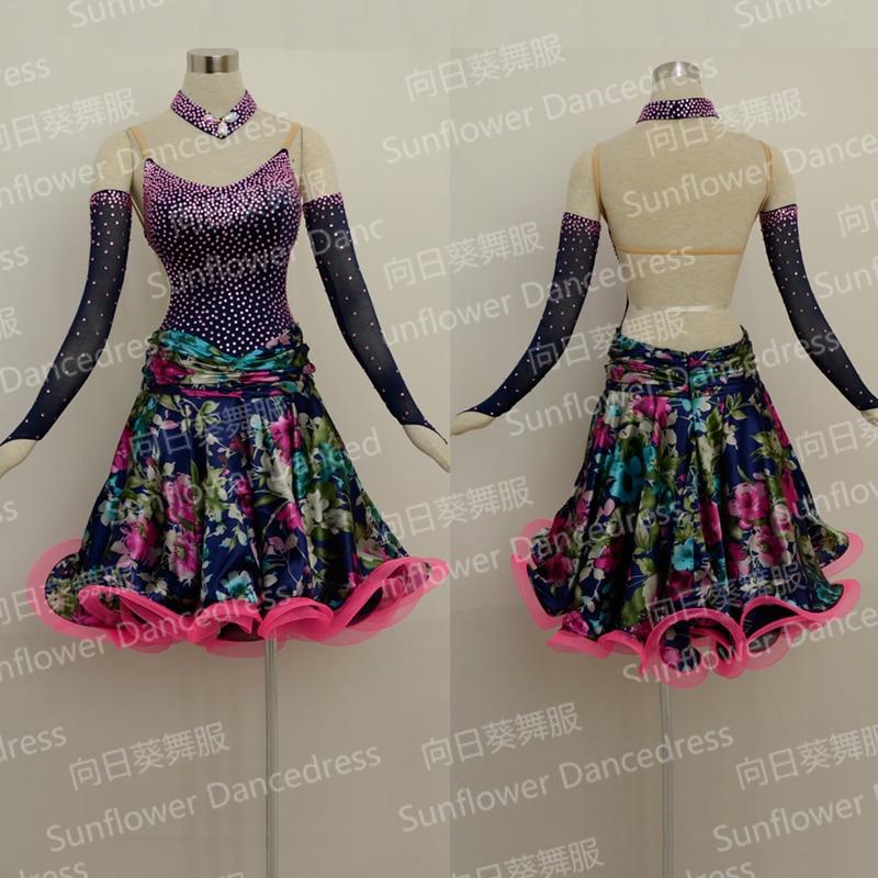 Rumba Jive Chacha Ballroom Latin Dance font b Dress b font Girls font b Women b