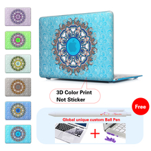 New Paisley Fashion For Girls Matte Hard Case Cover for Macbook Air 13 12 11 Pro 13 15 inch Retina Laptop Sleeve Accessories