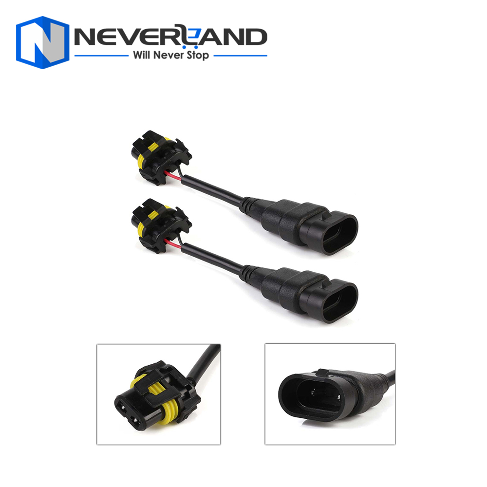 9005/HB3 Plug Extension Wiring Harness Socket Wire For Auto Car Led Headlight Bulbs Fog Light lamps 2 Pcs Free Shipping D30 h8 h11 female adapter wiring harness socket car auto wire connector cable plug for hid led headlight fog light lamp bulb
