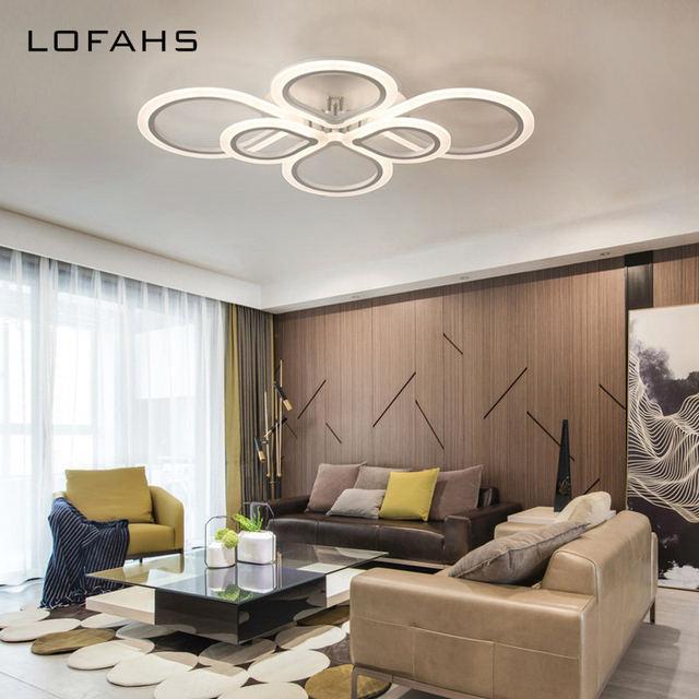 LOFAHS Moderne Acryl LED Decke Kronleuchter Beleuchtung Plexiglas  Chinesischen Knoten Kronleuchter Für Wohnzimmer Esszimmer Schlafzimmer  Glanz Avize