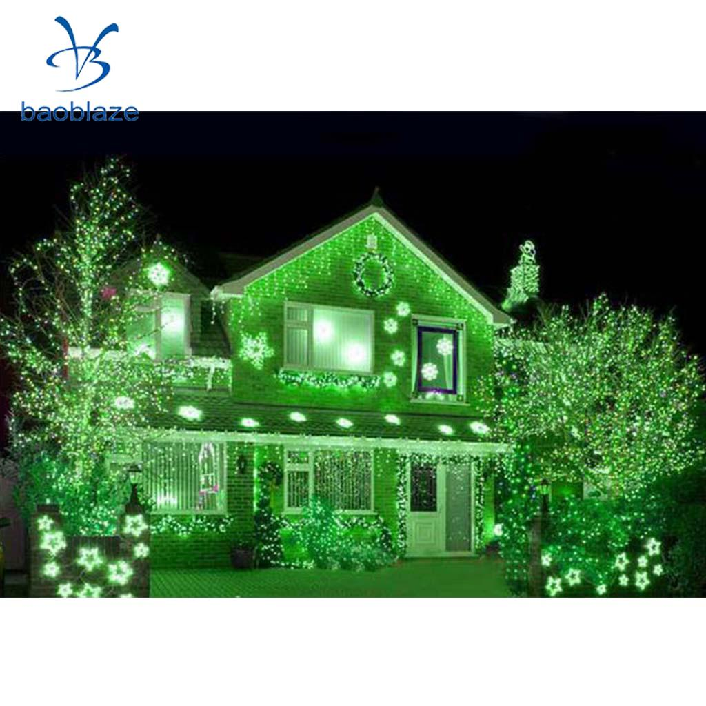 LED String Fairy Light Battery Operated Decorative Light 30LEDs Green