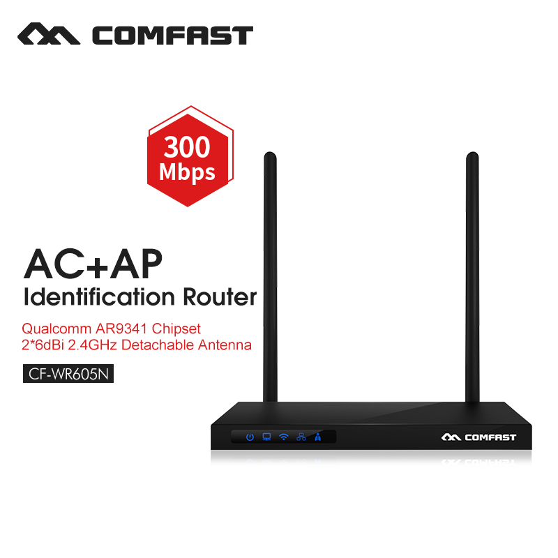 все цены на Wireless access point wifi repeater 300mbps wireless wifi router wifi signal extender 2.4G high power router COMFAST CF-WR605 онлайн