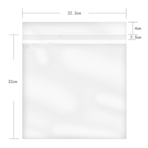 """Image 3 - 12 """"32.3 センチメートル * 32 センチメートル 50 個 OPP ゲル記録保護自己粘着バッグ保護袋 CD ターンテーブル Lp ビニールレコード"""