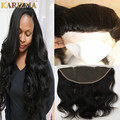 Ear to Ear Lace Frontal Brazilian Hair Bodywave Remy Human Hair Lace Frontal Brazilian Virgin Hair Full Lace Frontal Closure