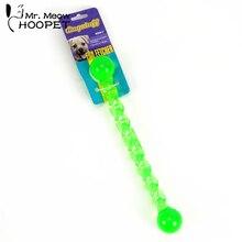 Hoopet собака зубы палка игрушки экологическая тренировка кости игрушка чистка зубов лечение прорезывания зубов собака кошка жевательная игрушка