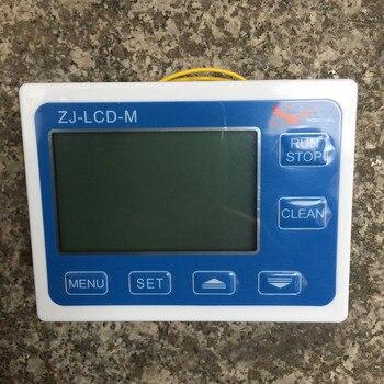 цифровой счетчик   Датчик расхода воды и топлива счетчик Индикатор Датчик-переключатель расходомер + цифровой ЖК-дисплей Контроллер диапазон 0,1-9999L G1