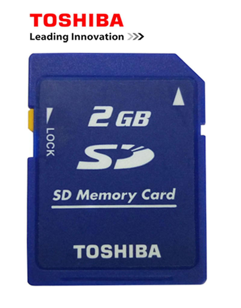 10PCS/Lot Toshiba 2GB Class2 SD Card  Carte SD Memory Card And Sd-card Lock Memoria SD Wholesale Price Cheap Free Shipping