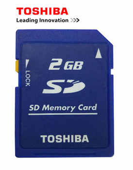 10PCS/Lot Toshiba 2GB Class2 SD Card Carte SD Memory Card and Sd-card Lock Memoria SD Wholesale Price Cheap Free Shipping - DISCOUNT ITEM  15 OFF Computer & Office