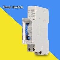 SUL180a 15 Minuten Mechanische Timer 24 Uur tijdschakelaar Programmeerbare Din Rail Timers Meting Analyse-instrumenten