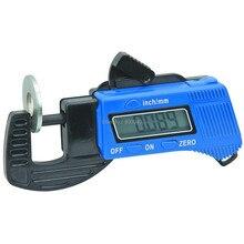 Падение цифровой толщиномер Толщина суппорт Carbon 0-12,7 мм Толщина метр электронные суппорт gauge