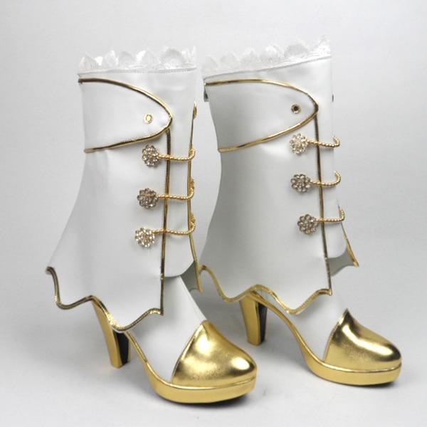 Love Live Eli Ayase Ellie Kousaka Honoka Minami Kotori Sonoda Umi Cosplay Wedding White Shoes H016