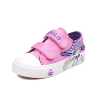 2018 Autumn New Tide Casual Girls Shoes Children S Shoes Cute Cartoon Style Girls Canvas Shoes