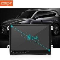 Zeepin 9001A Android 7,1 автомобильный мультимедийный плеер 9 дюймовый HD Сенсорный экран Bluetooth 4,0 Wi Fi gps радио тюнер заднего вида для VW