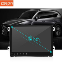 Zeepin 9001A Android 7.1 Car Multimedia Player 9 inch HD Touch Screen Bluetooth 4.0 Wi Fi GPS Radio Tuner Rear View for VW