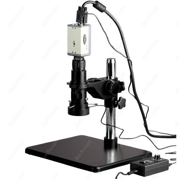 Монокулярный зум микроскоп 11X 80X + аналоговая ТВ камера низкого класса Lux HD Артикул: H800 CCD LL