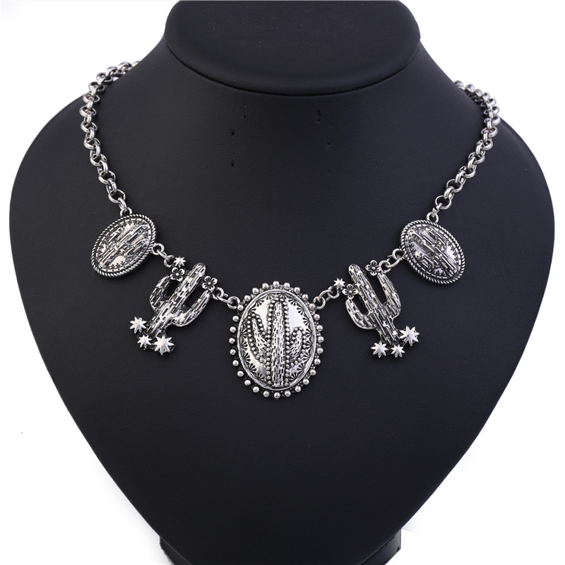 Винтидж обшивка тибетски сребърен - Модни бижута - Снимка 6