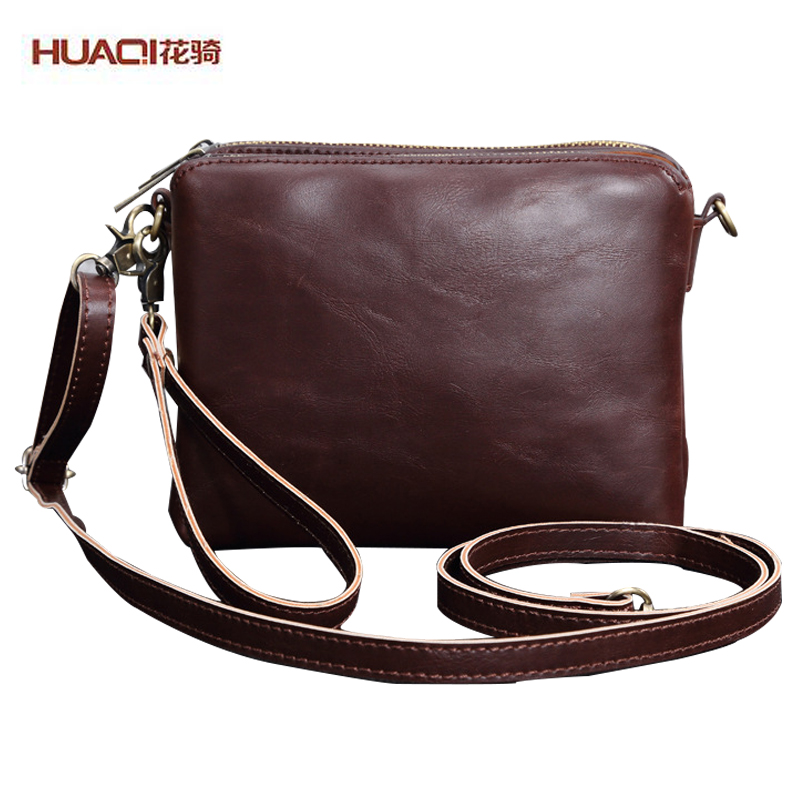 ФОТО 2017 New Arrival Men Bags Famous Brand Genuine Leather Male Messenger Bags Vintage Business Notebook Shoulder Bags HQszb-9
