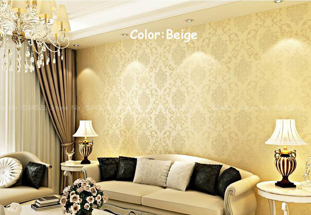 Large papel de parede photo wall paper modern imported wallpaper Pattern Damask 3d wall panel roll homedecor Wallcoverings