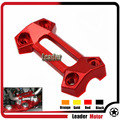 Motorcycle Accessories CNC Handlebar Handle Bar Riser Top Cover Red For Kawasaki Z800 2013 2014 2015