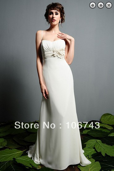 Livraison gratuite 2016 champange d'lvoire boule robes de mariée robe robes formales blanc robe longue plus la taille robes de soirée concis