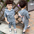 2017 New Fashion Spring baby boy Girl Clothes Dinosaur Sets Cotton Long Sleeve Hoodies +Pants 2pcs Baby Boy Clothing Set 1-5Y