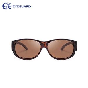Image 3 - EYEGUARD Lady Fashion Fit Over Sunglasses Oval Rectangular Polarized Glasses Women