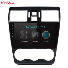"KiriNavi 10.2 ""Octa Core Android 7.1 Auto DVD Voor Subaru Forester Radio Stereo Audio Multimedia GPS Navigatie Head Unit WIFI RDS(China)"