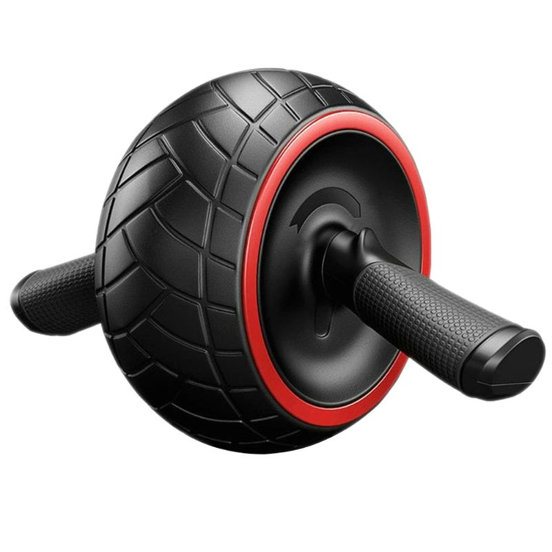 No Noise Abdominal Wheel Round AB Rollers For Core Trainer Waist Arm Strength Exercise Crossfit Press Gym Home Fitness Equipment new arrival high quality exercise equipment professional 4 wheels abdominal ab roller indoor fitness crossfit equipment