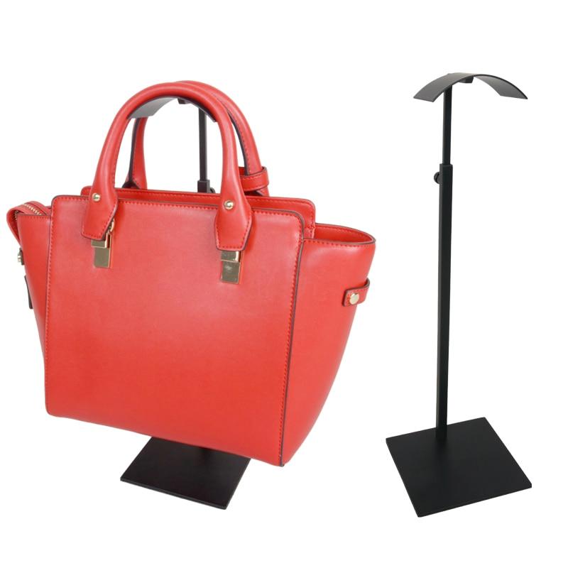 10PCS Adjustable height half-arc shape women's handbag display holder stand rack Linliangmuyu BJ09 wholesale handbag display stand and bag holder stand bag display rack
