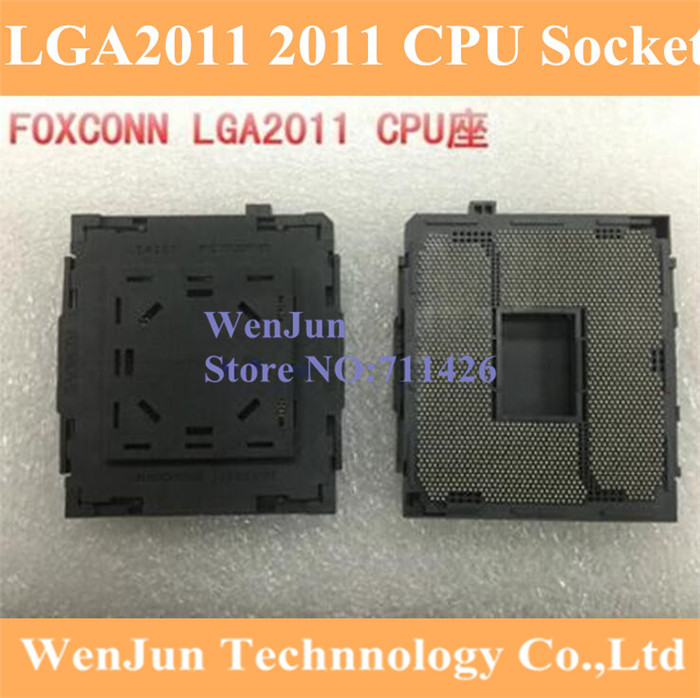 1pcs* Brand New <font><b>Socket</b></font> LGA2011 <font><b>2011</b></font> CPU Base PC Connector BGA Base for <font><b>X79</b></font> <font><b>socket</b></font> image