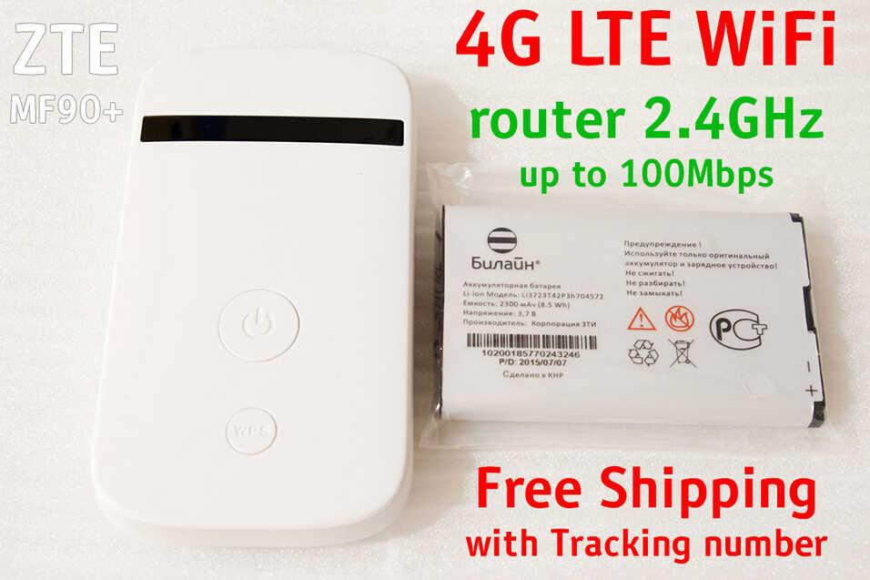 ロック解除 zte MF90 4 4g lte MiFi ドングルポケット wifi ルータ 4 グラム sim カード 4 グラム携帯 wi-fi ポケットドングルミニ lte MF90 mf90 + mf90m