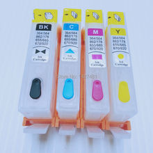 Empty refill ink cartridge For HP670 670XL for HP Deskjet Ink Advantage 3525/ 4615/ 4620/ 5525/ 4625 with permanent chip