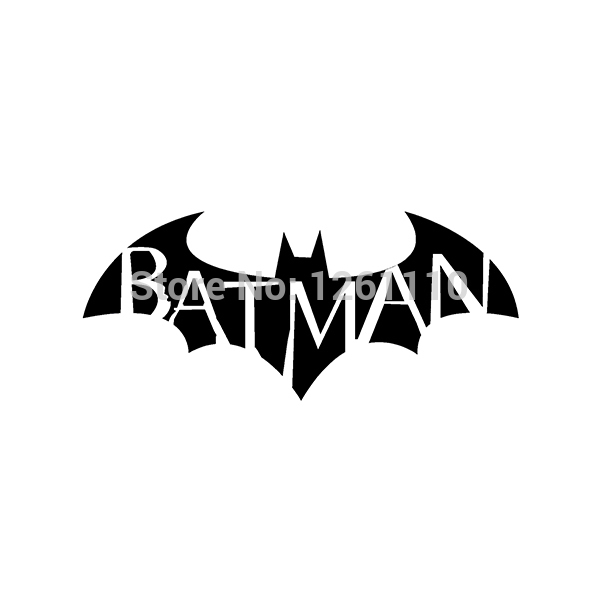 50 pcs lot vinyl stickers batman ref47 autocollant decals for Autocollant mural