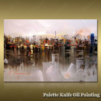 Paris Street Art Painting Home Decor Home Decoration Oil painting Wall Pictures for living room Home Decorpaint Wall art paint6