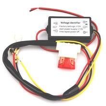 Автомобильный светодиодный дневный ходовой свет мини DRL контроллер Авто релейный жгут диммер ВКЛ/ВЫКЛ 12-18 в контроллер противотуманных фар