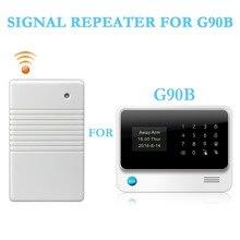 433 МГц Беспроводной ретранслятор сигнала передатчик расширитель Растяжитель сигнала для домашней безопасности G90B сигнализация PIR дверной детектор