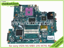 A1665245A MBX-195 M791 REV 1.0 Laptop Motherboard for SONY VAIO VGN-NS series Intel DDR2 PM45 ATI HD graphics Mainboard