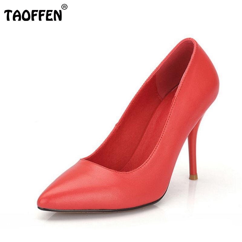 ФОТО ladies real genuine leather thin high heel shoes women brand sexy heels fashion office lady pumps heeled shoes size 34-40 R08338