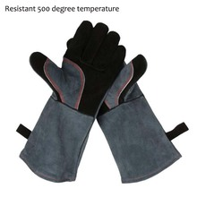 Protective Gloves Resistant 500 Degree Industrial Heating Gloves High Temperature Fire Gloves Working Safety Gloves