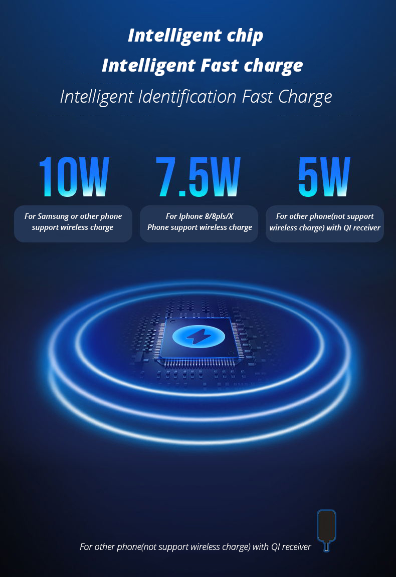 2 in 1 Wireless Charge Pad For Iphone X Iphone 8 Samsung S9 Samsung S8 DIY Disassemble Apple Watch wireless Charge Pads (5)
