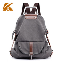 KVKY Multifunction School Shoulder Bags for Teenager Girls Travel Rucksack Backpack Bag Women Casual Canvas Backpacks