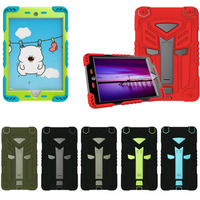 Hot Sale 3 In 1 Cool Autobots Silicon Plastic Tablet PC Protective Stand Holder For 7