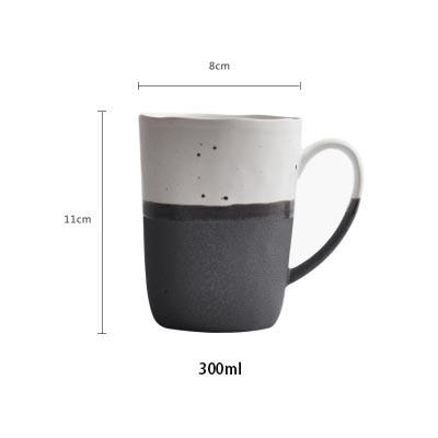 BENEWOTER 250ml 300ml Creative Japanese Ceramic Rough Pottery Tea ...