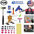 PDR инструменты безболезненный ремонт градом светодиодный свет PDR Dent Lifter Puller Ding набор инструментов для удаления