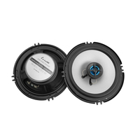 2Pcs 6.5 Inch 2 Way Coaxial Car Speakers 100W Universal Vehicle Auto Audio Music Stereo DIY Speaker Full Range Hifi Loudspeakers
