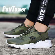 Plus Size Hommes Occasionnels Chaussures Mode Tenis Chaussures De Luxe Marque Sneakers Hommes Formateurs Femme Chaussures Maisons Sapato Feminino(China)