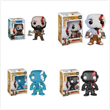 Funko POP Anime God of War Kratos PVC Model Collection Gift Toys Movie Action Figures Kids Boy Toy Children kratos god of war 4 figure god of war kratos action figures game figure statue pvc collectible model toy