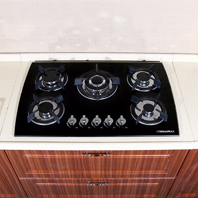kitchen cooktops cabinet doors with glass 30 black lpg ng built in 5 burner oven gas cooktop stove 3 3kw