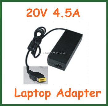 50pcs 20V 4.5A 90W AC Adapter Battery Charger for Lenovo ThinkPad X1 Carbon Series Power Supply Adapter DHL Free Shipping