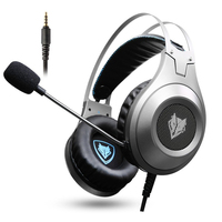 NUBWO Headphone Game Gaming Active Noise Cancelling Headphones Wired Headsets With Mic For Xbox One PS4